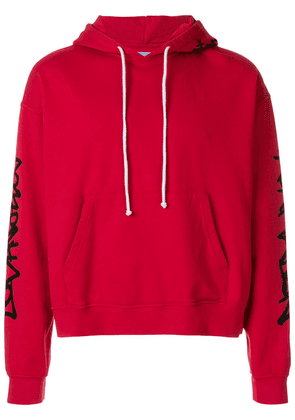 Adaptation oversized hooded sweatshirt - Red