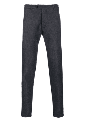 Al Duca D'Aosta 1902 fitted tailored trousers - Blue