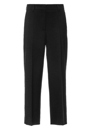 Prada cropped straight leg trousers - Black