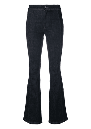 Givenchy classic fitted bootcut jeans - Blue
