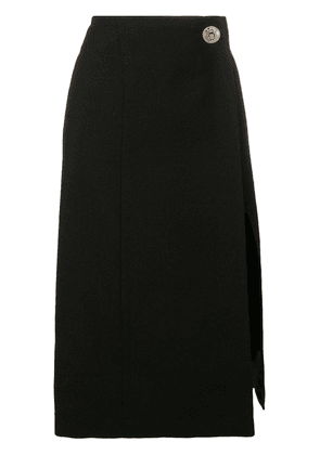 Givenchy front slit skirt - Black