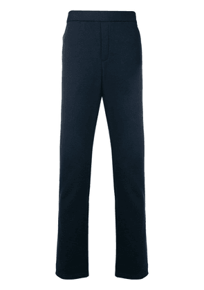 Bottega Veneta Intrecciatto detail track pants - Blue