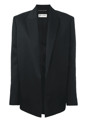 Saint Laurent peaked lapel blazer - Black