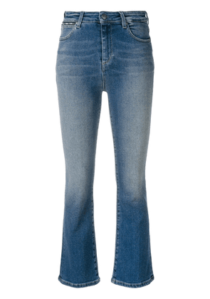 Acynetic cropped bootcut jeans - Blue