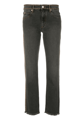 Isabel Marant studded jeans - Grey