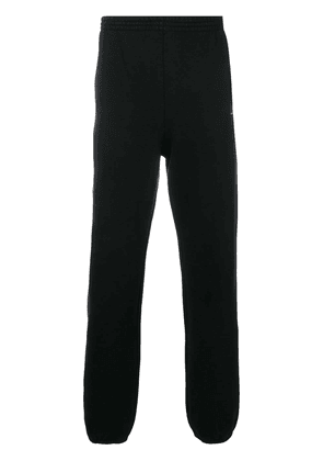 Balenciaga deformed knee pants - Black