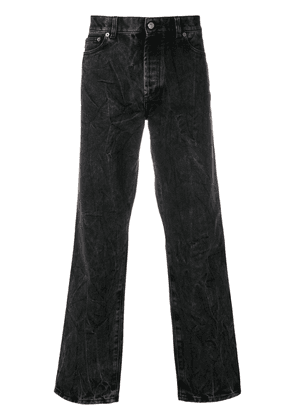 Givenchy wrinkled effect jeans - Grey