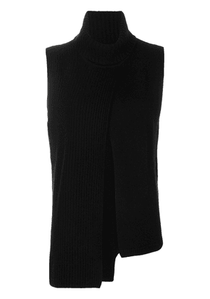 Cashmere In Love cashmere roll neck ribbed sweater - Black