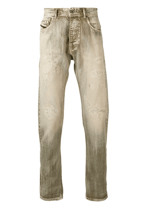 Diesel Black Gold washed dyed-effect jeans - Neutrals