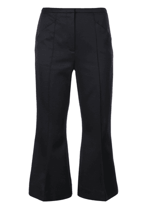 Dorothee Schumacher kick flare cropped trousers - Black