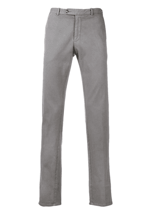 Borrelli straight leg chinos - Grey