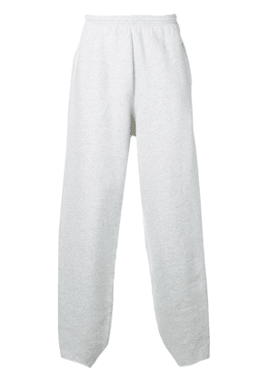 Balenciaga B embroidered track pants - Grey