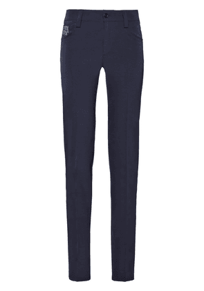 Prada stretch technical fabric trousers - Blue