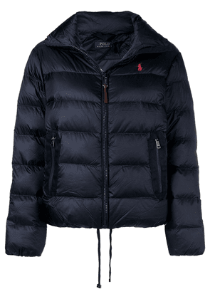 Polo Ralph Lauren embroidered down jacket - Blue