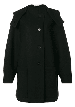 Marni hooded coat - Black