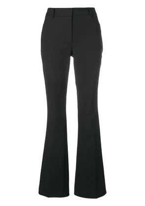 Calvin Klein flared tailored trousers - Black