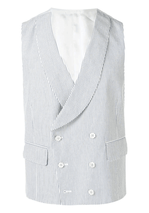 Gabriele Pasini double breasted waistcoat - White