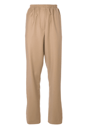 Givenchy slit cuff joggers - Brown