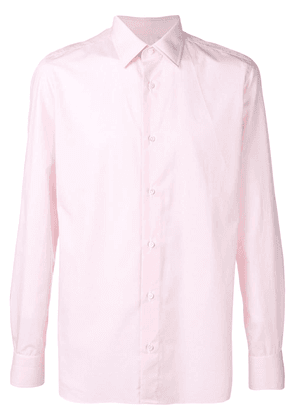 Borrelli classic fitted shirt - Pink