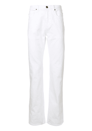 Calvin Klein slim-fit jeans - White