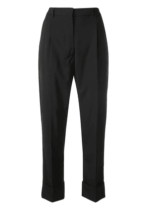 Prada cropped tailored trousers - Black