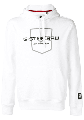 G-Star Raw Research logo print hoodie - White