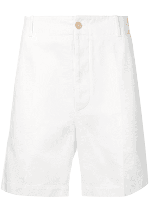 Gucci logo deck shorts - White