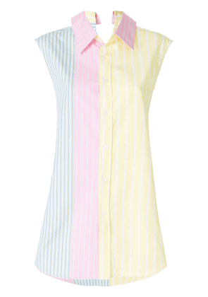 Marni longline striped shirt - Sty34