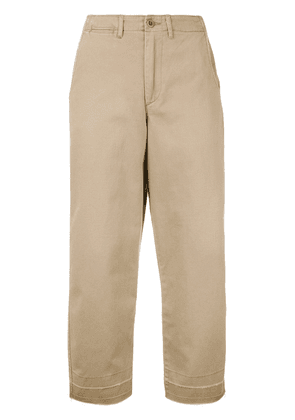 Polo Ralph Lauren cropped trousers - Neutrals