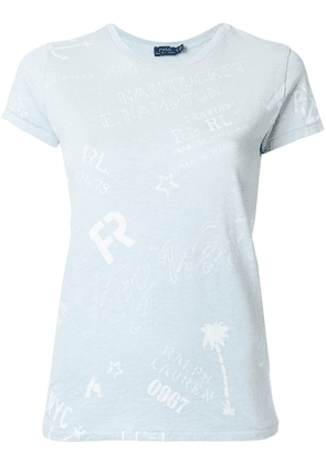Polo Ralph Lauren nautical motif T-shirt - Blue