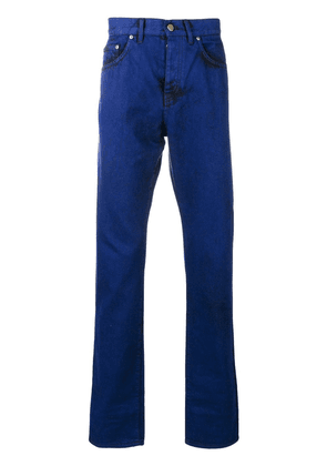 Bottega Veneta overwashed denim jeans - Blue