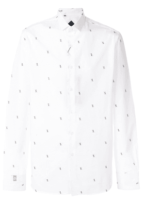 Billionaire printed shirt - White
