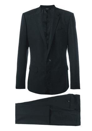 Dolce & Gabbana two piece suit - Black