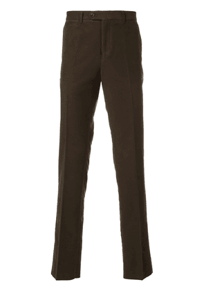 Gieves & Hawkes casual chino trousers - Green