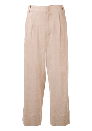 Isabel Marant cropped flared trousers - Neutrals