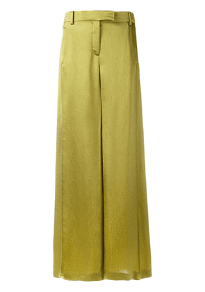 Valentino flared trousers - Green