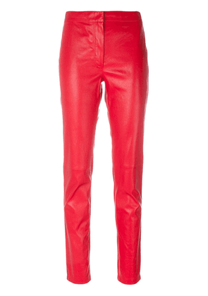 Loewe slim-fit trousers - Red