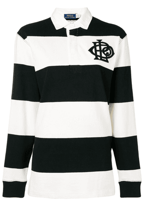 Polo Ralph Lauren striped rugby top - Black