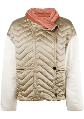 Isabel Marant Hector padded jacket - Neutrals