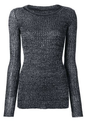 Isabel Marant fitted sweater - Grey