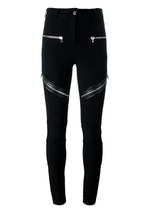 Givenchy zip detail trousers - Black