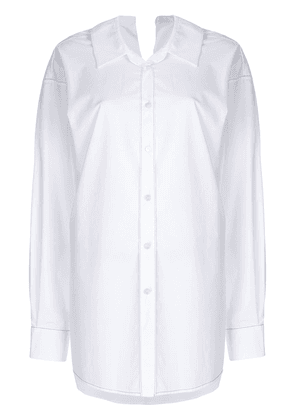 Marni ovestitched shirt - White
