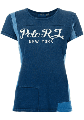 Polo Ralph Lauren patchwork T-shirt - Blue