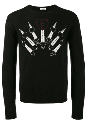 Valentino Love Blade jumper - Black