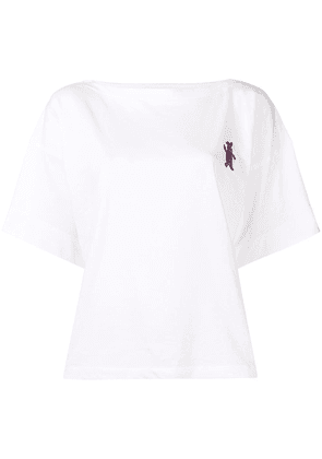 Marni logo patch T-shirt - White