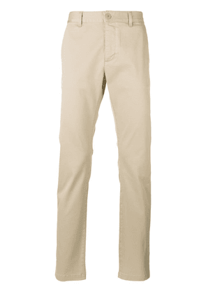 Saint Laurent classic slim chino trousers - Neutrals