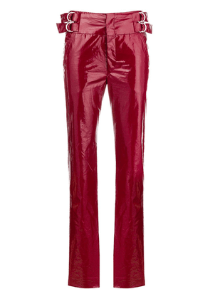 Isabel Marant Ennya high-waisted trousers - Red