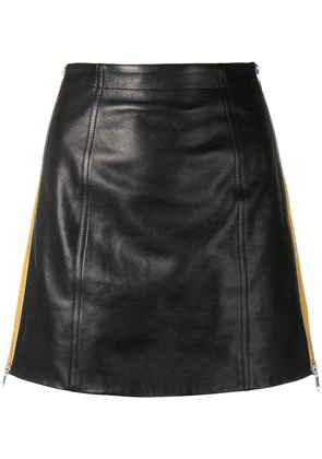 Givenchy side stripe mini skirt - Black