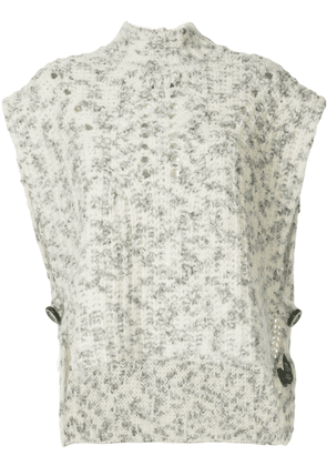 Isabel Marant knitted top - Grey