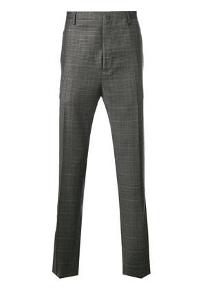 Lanvin checked print tailored trousers - Grey